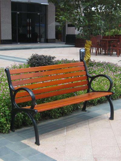 不锈钢公园椅安装